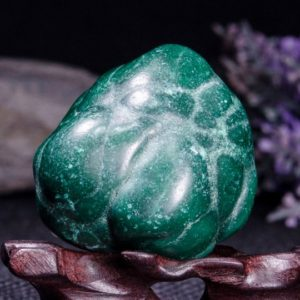 Shop Tumbled Malachite Crystals & Pocket Stones! Best Large Polished Green Malachite Stone -Tumbled Stones For Decoration/Pocket Stones/Healing Crystals/Valentines Gift-35*33*42mm-87g#3841 | Natural genuine stones & crystals in various shapes & sizes. Buy raw cut, tumbled, or polished gemstones for making jewelry or crystal healing energy vibration raising reiki stones. #crystals #gemstones #crystalhealing #crystalsandgemstones #energyhealing #affiliate #ad