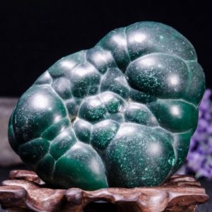 Shop Tumbled Malachite Crystals & Pocket Stones! Best Large Polished Green Malachite Stone -Tumbled Stones For Decoration/Pocket Stones/Healing Crystals/Valentines Gift-55*71*43mm-252g#3842 | Natural genuine stones & crystals in various shapes & sizes. Buy raw cut, tumbled, or polished gemstones for making jewelry or crystal healing energy vibration raising reiki stones. #crystals #gemstones #crystalhealing #crystalsandgemstones #energyhealing #affiliate #ad