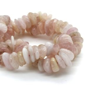 Shop Morganite Chip & Nugget Beads! Morganite Small Nugget Chips Pebble Assorted Size Loose Smooth Natural Rough Gemstone Beads – Full Strand   Natural genuine chip Morganite beads for beading and jewelry making.  #jewelry #beads #beadedjewelry #diyjewelry #jewelrymaking #beadstore #beading #affiliate #ad