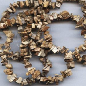 Shop Picture Jasper Chip & Nugget Beads! Picture Jasper Semi Precious Gemstone Chip Beads | Natural genuine chip Picture Jasper beads for beading and jewelry making.  #jewelry #beads #beadedjewelry #diyjewelry #jewelrymaking #beadstore #beading #affiliate #ad