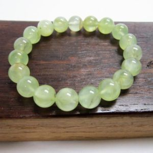 Shop Prehnite Bracelets! Prehnite Bracelet Prehnite Chakra Bracelet Prehnite Third Eye Chakra Bracelet Libra Prehnite Meditation Bracelet Prehnite Healing Bracelet | Natural genuine Prehnite bracelets. Buy crystal jewelry, handmade handcrafted artisan jewelry for women.  Unique handmade gift ideas. #jewelry #beadedbracelets #beadedjewelry #gift #shopping #handmadejewelry #fashion #style #product #bracelets #affiliate #ad