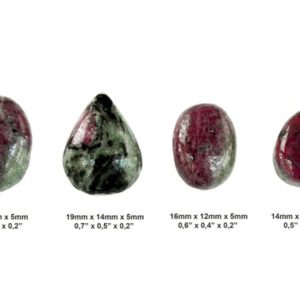 Shop Ruby Zoisite Cabochons! Ruby Zoisite Cabochon Stone – Set of 4 Pieces – Cabochon Set – Stone Set | Natural genuine stones & crystals in various shapes & sizes. Buy raw cut, tumbled, or polished gemstones for making jewelry or crystal healing energy vibration raising reiki stones. #crystals #gemstones #crystalhealing #crystalsandgemstones #energyhealing #affiliate #ad