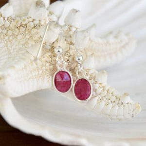 Shop Ruby Earrings! Ruby Earrings | Natural genuine Ruby earrings. Buy crystal jewelry, handmade handcrafted artisan jewelry for women.  Unique handmade gift ideas. #jewelry #beadedearrings #beadedjewelry #gift #shopping #handmadejewelry #fashion #style #product #earrings #affiliate #ad