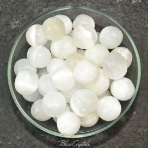 1 Selenite Tumbled Stone Moonglow Satin Spar Emotional Cleanser Yoga #st02 | Natural genuine stones & crystals in various shapes & sizes. Buy raw cut, tumbled, or polished gemstones for making jewelry or crystal healing energy vibration raising reiki stones. #crystals #gemstones #crystalhealing #crystalsandgemstones #energyhealing #affiliate #ad