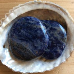 Shop Palm Stones! Sodalite Palm Smooth Touch Stone, Spiritual Stone, Healing Stone, Healing Crystal, Chakra | Natural genuine stones & crystals in various shapes & sizes. Buy raw cut, tumbled, or polished gemstones for making jewelry or crystal healing energy vibration raising reiki stones. #crystals #gemstones #crystalhealing #crystalsandgemstones #energyhealing #affiliate #ad