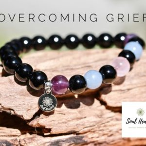 Shop Apache Tears Jewelry! Overcoming Grief Gemstone Bracelet, Crystals for Bereavement, Crystals For Coping With Loss. | Natural genuine Apache Tears jewelry. Buy crystal jewelry, handmade handcrafted artisan jewelry for women.  Unique handmade gift ideas. #jewelry #beadedjewelry #beadedjewelry #gift #shopping #handmadejewelry #fashion #style #product #jewelry #affiliate #ad