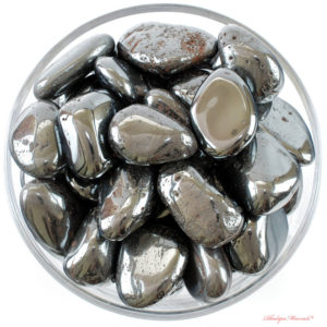 Shop Hematite Stones & Crystals! 1 One Large Hematite Tumbled Stones, Hematite Crystal, Hematite, Tumbled Hematite, Hematite Gemstone, Hematite Tumblestone, Rhodope Minerals | Natural genuine stones & crystals in various shapes & sizes. Buy raw cut, tumbled, or polished gemstones for making jewelry or crystal healing energy vibration raising reiki stones. #crystals #gemstones #crystalhealing #crystalsandgemstones #energyhealing #affiliate #ad