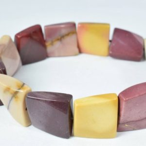 Shop Mookaite Beads! 17mm Mookaite Jasper Gemstone  Beads, 20pcs, Natural healing stone Beads birthstone natural Beads for jewelry making | Natural genuine other-shape Mookaite beads for beading and jewelry making.  #jewelry #beads #beadedjewelry #diyjewelry #jewelrymaking #beadstore #beading #affiliate #ad