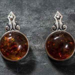 Shop Amber Earrings! Amber Earrings, Natural Amber, Brown Amber Earrings, Natural Brown Amber, Taurus Earrings, Vintage Earrings, Solid Silver Earrings, Amber | Natural genuine Amber earrings. Buy crystal jewelry, handmade handcrafted artisan jewelry for women.  Unique handmade gift ideas. #jewelry #beadedearrings #beadedjewelry #gift #shopping #handmadejewelry #fashion #style #product #earrings #affiliate #ad