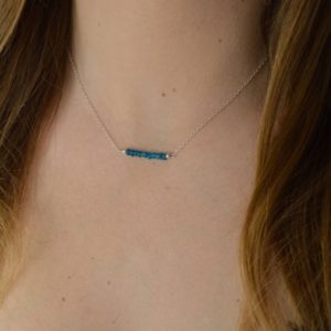 Shop Apatite Necklaces! Apatite necklace * and fine chain | Natural genuine Apatite necklaces. Buy crystal jewelry, handmade handcrafted artisan jewelry for women.  Unique handmade gift ideas. #jewelry #beadednecklaces #beadedjewelry #gift #shopping #handmadejewelry #fashion #style #product #necklaces #affiliate #ad