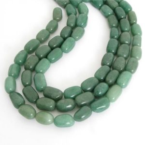Shop Aventurine Chip & Nugget Beads! 15mm Aventurine Beads, Green Aventurine Bead Strand, Nugget Seafoam Aventurine, Full Strand, Natural Gemstone, Ave208 | Natural genuine chip Aventurine beads for beading and jewelry making.  #jewelry #beads #beadedjewelry #diyjewelry #jewelrymaking #beadstore #beading #affiliate #ad
