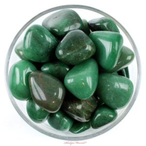 Shop Tumbled Aventurine Crystals & Pocket Stones! One 1 Jumbo Green Aventurine Tumbled Stones, Green Aventurine Tumbled Stones, Green Aventurine Crystals, Healing Crystals, Healing Stones | Natural genuine stones & crystals in various shapes & sizes. Buy raw cut, tumbled, or polished gemstones for making jewelry or crystal healing energy vibration raising reiki stones. #crystals #gemstones #crystalhealing #crystalsandgemstones #energyhealing #affiliate #ad