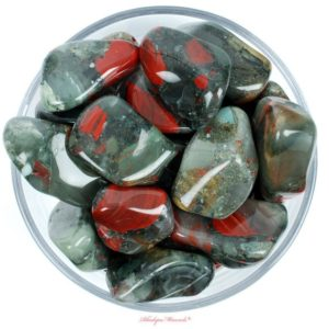 Shop Tumbled Bloodstone Crystals & Pocket Stones! One Xxl Bloodstone Tumbled Stone, Heliotrope Tumbled Stone, Bloodstone Heliotrope Tumbled Stones, Bloodstone Tumbled Stones, Zodiac Stones | Natural genuine stones & crystals in various shapes & sizes. Buy raw cut, tumbled, or polished gemstones for making jewelry or crystal healing energy vibration raising reiki stones. #crystals #gemstones #crystalhealing #crystalsandgemstones #energyhealing #affiliate #ad