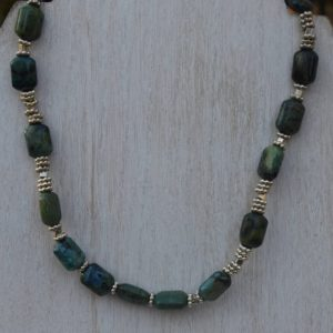 Shop Chrysocolla Necklaces! Chrysocolla Jewelry Set, Necklace and Bracelet, Mother's Day Gift | Natural genuine Chrysocolla necklaces. Buy crystal jewelry, handmade handcrafted artisan jewelry for women.  Unique handmade gift ideas. #jewelry #beadednecklaces #beadedjewelry #gift #shopping #handmadejewelry #fashion #style #product #necklaces #affiliate #ad