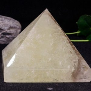 Clear Citrine Quartz Pyramid / citrine Pyramid / decoration / energy Stone Ornaments / healing Stone / meditation / crystal Pyramid-84*70mm-568g | Natural genuine stones & crystals in various shapes & sizes. Buy raw cut, tumbled, or polished gemstones for making jewelry or crystal healing energy vibration raising reiki stones. #crystals #gemstones #crystalhealing #crystalsandgemstones #energyhealing #affiliate #ad