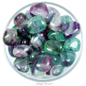Shop Fluorite Stones & Crystals! One 1 Rainbow Fluorite Tumbled Stone, Rainbow Fluorite Tumbled Stones, Rainbow Fluorite Tumbled Stone, Gemstones Fluorite Rainbow, Gemstones | Natural genuine stones & crystals in various shapes & sizes. Buy raw cut, tumbled, or polished gemstones for making jewelry or crystal healing energy vibration raising reiki stones. #crystals #gemstones #crystalhealing #crystalsandgemstones #energyhealing #affiliate #ad