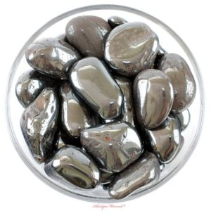 Shop Tumbled Hematite Crystals & Pocket Stones! One 1 Xxl Hematite Tumbled Stones, Hematite Crystal, Hematite, Tumbled Hematite, Hematite Gemstone, Hematite Tumblestone, Rhodope Minerals | Natural genuine stones & crystals in various shapes & sizes. Buy raw cut, tumbled, or polished gemstones for making jewelry or crystal healing energy vibration raising reiki stones. #crystals #gemstones #crystalhealing #crystalsandgemstones #energyhealing #affiliate #ad