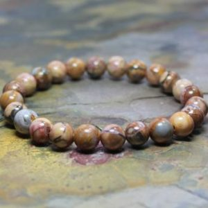 Shop Jasper Bracelets! Jasper Stretch Bracelet, Boho Stretch Bracelet, Yoga Stretch Bracelet, Venus Jasper, Jasper Jewelry, Metaphysical Gifts, Yoga Gift for Women | Natural genuine Jasper bracelets. Buy crystal jewelry, handmade handcrafted artisan jewelry for women.  Unique handmade gift ideas. #jewelry #beadedbracelets #beadedjewelry #gift #shopping #handmadejewelry #fashion #style #product #bracelets #affiliate #ad