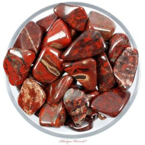 Shop Tumbled Jasper Crystals & Pocket Stones! One 1 LARGE Brecciated Red Jasper Tumbled Stone, Bracciated Red Jasper Tumbled Stones, Bracciated Red Jasper Tumbled Stone, Red Jasper | Natural genuine stones & crystals in various shapes & sizes. Buy raw cut, tumbled, or polished gemstones for making jewelry or crystal healing energy vibration raising reiki stones. #crystals #gemstones #crystalhealing #crystalsandgemstones #energyhealing #affiliate #ad