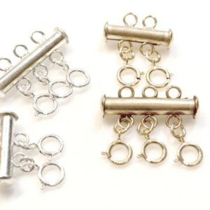 Shop Clasps for Making Jewelry! Layering Necklace Clasp, Layered Necklace Detangler, Layered Necklace Spacer Clasp, Gold Fill,Silver Silver, Multi Strand Necklace Detangler | Shop jewelry making and beading supplies, tools & findings for DIY jewelry making and crafts. #jewelrymaking #diyjewelry #jewelrycrafts #jewelrysupplies #beading #affiliate #ad