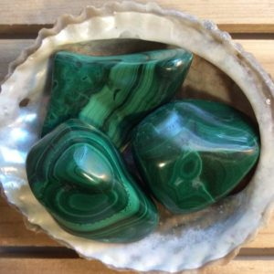 Malachite tumbled stone,Healing Crystal, Healing Stones, Spiritual Stone | Natural genuine stones & crystals in various shapes & sizes. Buy raw cut, tumbled, or polished gemstones for making jewelry or crystal healing energy vibration raising reiki stones. #crystals #gemstones #crystalhealing #crystalsandgemstones #energyhealing #affiliate #ad