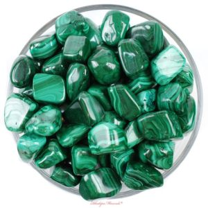 Shop Tumbled Malachite Crystals & Pocket Stones! One 1 Malachite Tumbled Stone, Malachite Tumbled Stones, Malachite Tumbled Stone, Tumbled Malachite, Big Malachite, Rhodope Minerals | Natural genuine stones & crystals in various shapes & sizes. Buy raw cut, tumbled, or polished gemstones for making jewelry or crystal healing energy vibration raising reiki stones. #crystals #gemstones #crystalhealing #crystalsandgemstones #energyhealing #affiliate #ad