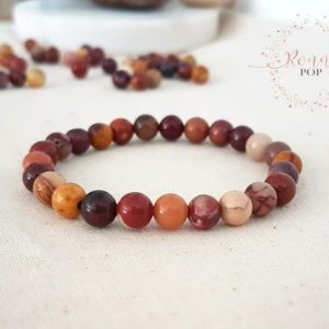 Shop Mookaite Bracelets! Mookaite Jasper Bracelet 6mm – Natural Stone – Semi Precious Stone – Yoga Bracelet – Mala Bracelet – Yoga Jewelry – Jasper Beads – Sister | Natural genuine Mookaite bracelets. Buy crystal jewelry, handmade handcrafted artisan jewelry for women.  Unique handmade gift ideas. #jewelry #beadedbracelets #beadedjewelry #gift #shopping #handmadejewelry #fashion #style #product #bracelets #affiliate #ad