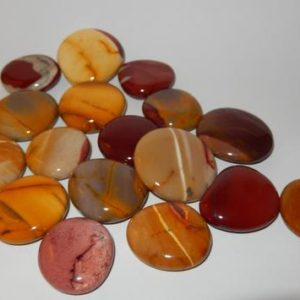 Shop Palm Stones! Mookaite Jasper flat palm | Natural genuine stones & crystals in various shapes & sizes. Buy raw cut, tumbled, or polished gemstones for making jewelry or crystal healing energy vibration raising reiki stones. #crystals #gemstones #crystalhealing #crystalsandgemstones #energyhealing #affiliate #ad