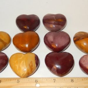 Shop Mookaite Stones & Crystals! Mookaite Jasper Heart | Natural genuine stones & crystals in various shapes & sizes. Buy raw cut, tumbled, or polished gemstones for making jewelry or crystal healing energy vibration raising reiki stones. #crystals #gemstones #crystalhealing #crystalsandgemstones #energyhealing #affiliate #ad