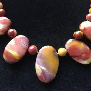 Shop Mookaite Necklaces! Mookaite Jasper Necklace, Free Shipping | Natural genuine Mookaite necklaces. Buy crystal jewelry, handmade handcrafted artisan jewelry for women.  Unique handmade gift ideas. #jewelry #beadednecklaces #beadedjewelry #gift #shopping #handmadejewelry #fashion #style #product #necklaces #affiliate #ad