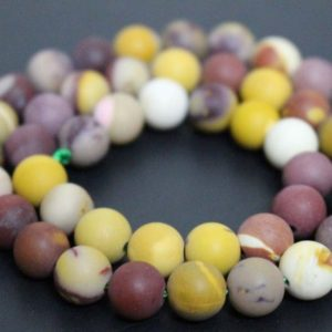 Shop Mookaite Beads! Matte Mookaite Smooth And Round Stone Beads, 6mm / 8mm / 10mm / 12mm Mookaite Wholesale Beads Supply, 15 Inches One Starand | Natural genuine round Mookaite beads for beading and jewelry making.  #jewelry #beads #beadedjewelry #diyjewelry #jewelrymaking #beadstore #beading #affiliate #ad
