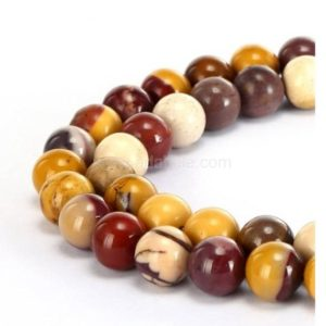 """Shop Mookaite Beads! You Pick Top Quality Natural Mookaite Jasper Gemstone 4mm 6mm 8mm 10mm Round Loose Beads 15.5"""" #GF22 