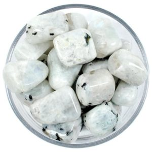 Shop Tumbled Rainbow Moonstone Crystals & Pocket Stones! One 1 LARGE Rainbow Moonstone Tumbled Stone, Rainbow Moonstone Tumbled Stones, Rainbow Moonstone Tumbled Stone, Healing Rainbow Moonstone | Natural genuine stones & crystals in various shapes & sizes. Buy raw cut, tumbled, or polished gemstones for making jewelry or crystal healing energy vibration raising reiki stones. #crystals #gemstones #crystalhealing #crystalsandgemstones #energyhealing #affiliate #ad