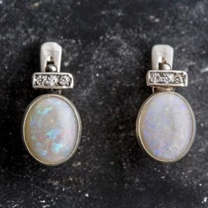 Shop Opal Earrings! Victorian Earrings, Opal Earrings, Natural Opal, October Birthstone, Australian Opal, Vintage Earrings, Genuine Opal, Silver Earrings, Opal | Natural genuine Opal earrings. Buy crystal jewelry, handmade handcrafted artisan jewelry for women.  Unique handmade gift ideas. #jewelry #beadedearrings #beadedjewelry #gift #shopping #handmadejewelry #fashion #style #product #earrings #affiliate #ad