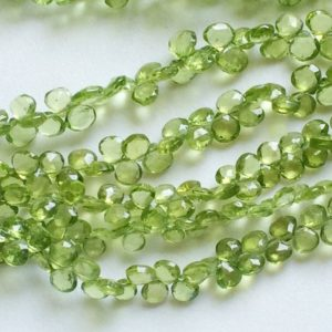 Shop Peridot Bead Shapes! 5mm Peridot Faceted Heart Beads, Natural Peridot Heart Briolettes, Peridot Heart For Jewelry (15Pcs To 30Pcs Options) – AGA109 | Natural genuine other-shape Peridot beads for beading and jewelry making.  #jewelry #beads #beadedjewelry #diyjewelry #jewelrymaking #beadstore #beading #affiliate #ad