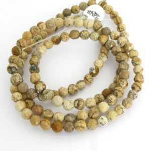 Shop Picture Jasper Faceted Beads! 6mm Picture Jasper Beads, Faceted Round Jasper, Scenic Jasper, Landscape Jasper, 6mm Faceted Round, Full Strand, Earth Tones, Jas247 | Natural genuine faceted Picture Jasper beads for beading and jewelry making.  #jewelry #beads #beadedjewelry #diyjewelry #jewelrymaking #beadstore #beading #affiliate #ad
