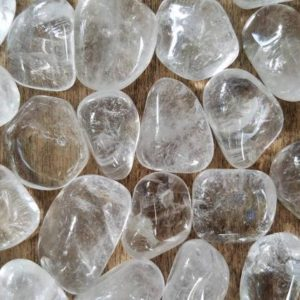Shop Tumbled Quartz Crystals & Pocket Stones! Grade A Clear Quartz, Tumbled Quartz, Crystal, Rainbow, Clear, Natural Stone, Pocket Stone, Palm, Altar, Crystal Grid | Natural genuine stones & crystals in various shapes & sizes. Buy raw cut, tumbled, or polished gemstones for making jewelry or crystal healing energy vibration raising reiki stones. #crystals #gemstones #crystalhealing #crystalsandgemstones #energyhealing #affiliate #ad