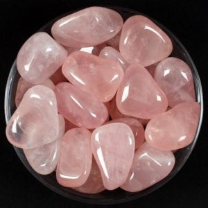 Shop Tumbled Rose Quartz Crystals & Pocket Stones! One 1 Large Rose Quartz Tumbled Stone, Rose Quartz Crystal, Pink Quartz Stone Tumbled Pink Quartz, Quartz Gemstone, Rhodope Minerals, Gift | Natural genuine stones & crystals in various shapes & sizes. Buy raw cut, tumbled, or polished gemstones for making jewelry or crystal healing energy vibration raising reiki stones. #crystals #gemstones #crystalhealing #crystalsandgemstones #energyhealing #affiliate #ad