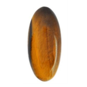Shop Tiger Eye Cabochons! Tiger Eye Cabochon Stone (40mm X 18mm X 8mm) – Oval Cut Gemstone | Natural genuine stones & crystals in various shapes & sizes. Buy raw cut, tumbled, or polished gemstones for making jewelry or crystal healing energy vibration raising reiki stones. #crystals #gemstones #crystalhealing #crystalsandgemstones #energyhealing #affiliate #ad