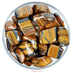 Shop Tumbled Tiger Eye Crystals & Pocket Stones! One Tigers Eye Tumbled Stone, Tigers Eye Tumbled Stones, Tumbled Stones Tigers Eye, Tigers Eye Crystals, Zodiac Tigers Eye Stone, Tigers Eye | Natural genuine stones & crystals in various shapes & sizes. Buy raw cut, tumbled, or polished gemstones for making jewelry or crystal healing energy vibration raising reiki stones. #crystals #gemstones #crystalhealing #crystalsandgemstones #energyhealing #affiliate #ad