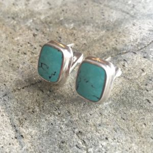 Shop Turquoise Earrings! Turquoise Earrings, Natural Turquoise, Sleeping Beauty, January Birthstone, Real Turquoise, Solid Silver, Pure Silver, Sleeping Beauty Studs | Natural genuine Turquoise earrings. Buy crystal jewelry, handmade handcrafted artisan jewelry for women.  Unique handmade gift ideas. #jewelry #beadedearrings #beadedjewelry #gift #shopping #handmadejewelry #fashion #style #product #earrings #affiliate #ad