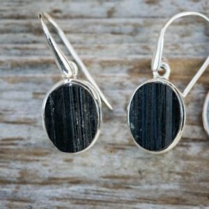 Shop Black Tourmaline Earrings! Black Tourmaline Earrings – Raw Uncut Black Tourmaline Earrings – Raw Black Tourmaline Earrings – Raw Uncut Black Tourmaline Dangle Earrings | Natural genuine Black Tourmaline earrings. Buy crystal jewelry, handmade handcrafted artisan jewelry for women.  Unique handmade gift ideas. #jewelry #beadedearrings #beadedjewelry #gift #shopping #handmadejewelry #fashion #style #product #earrings #affiliate #ad