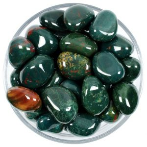 Shop Tumbled Bloodstone Crystals & Pocket Stones! One 1 Heliotrope Tumbled Stone, One 1 Heliotrope Tumbled Stones, One 1 Heliotrope Tumbled Stone, Healing Heliotrope, Healing Crystals | Natural genuine stones & crystals in various shapes & sizes. Buy raw cut, tumbled, or polished gemstones for making jewelry or crystal healing energy vibration raising reiki stones. #crystals #gemstones #crystalhealing #crystalsandgemstones #energyhealing #affiliate #ad