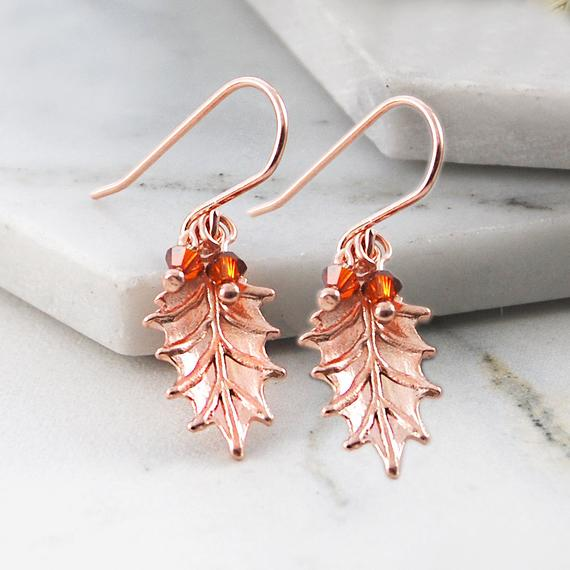 Rose Gold Earrings, Gifts For Friends, Birthday Gifts, Gift Ideas, Drop Earrings, Organic Jewelry, Garnet Stones, Rose Gold Jewelry Gift