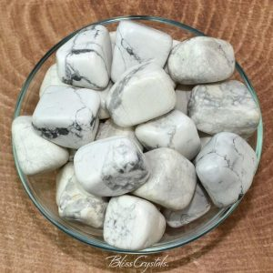 Shop Howlite Stones & Crystals! 1 XL White HOWLITE Chunky Tumbled Stone for Medicine Bag Metaphysical Jewelry & Crafts #HL01 | Natural genuine stones & crystals in various shapes & sizes. Buy raw cut, tumbled, or polished gemstones for making jewelry or crystal healing energy vibration raising reiki stones. #crystals #gemstones #crystalhealing #crystalsandgemstones #energyhealing #affiliate #ad
