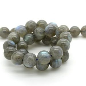 Shop Labradorite Round Beads! Natural Labradorite (Grade AA) Smooth Round Ball Sphere Loose Gemstone Beads Bead | Natural genuine round Labradorite beads for beading and jewelry making.  #jewelry #beads #beadedjewelry #diyjewelry #jewelrymaking #beadstore #beading #affiliate #ad