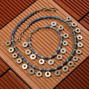 Shop Lapis Lazuli Necklaces! Tribal Necklace, Lapis Lazuli Necklace, Silver Talisman Necklace | Natural genuine Lapis Lazuli necklaces. Buy crystal jewelry, handmade handcrafted artisan jewelry for women.  Unique handmade gift ideas. #jewelry #beadednecklaces #beadedjewelry #gift #shopping #handmadejewelry #fashion #style #product #necklaces #affiliate #ad