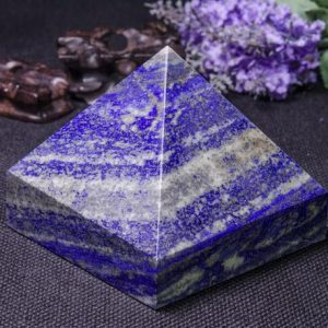 Shop Lapis Lazuli Shapes! Lapis Lazuli Pyramid / Lazuli Pyramid / Lazuli Decoration / energy Stone Ornaments / healing Stone Of Lazuli Pyramid-93*91mm-1108g#1779 | Natural genuine stones & crystals in various shapes & sizes. Buy raw cut, tumbled, or polished gemstones for making jewelry or crystal healing energy vibration raising reiki stones. #crystals #gemstones #crystalhealing #crystalsandgemstones #energyhealing #affiliate #ad
