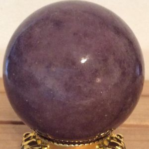Shop Lepidolite Shapes! Lepidolite Sphere, Sphere 50mm ,Healing Stone, Healing Crystal, Chakra Stone, Spiritual Stone | Natural genuine stones & crystals in various shapes & sizes. Buy raw cut, tumbled, or polished gemstones for making jewelry or crystal healing energy vibration raising reiki stones. #crystals #gemstones #crystalhealing #crystalsandgemstones #energyhealing #affiliate #ad