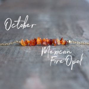 Shop Opal Jewelry! Raw Mexican Fire Opal Necklace, Raw Opal Necklace, Orange Fire Opal Necklaces for Women, October Birthstone Jewelry Gift for Her | Natural genuine Opal jewelry. Buy crystal jewelry, handmade handcrafted artisan jewelry for women.  Unique handmade gift ideas. #jewelry #beadedjewelry #beadedjewelry #gift #shopping #handmadejewelry #fashion #style #product #jewelry #affiliate #ad